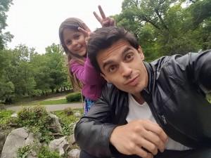 С дъщеря си