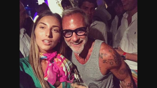 С Джанлука Ваки на частното парти на остров Сардиния