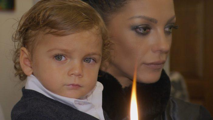 Емануела кръсти сина си, но бащата Димитър Динев Не се Появи! УНИКАЛНИ СНИМКИ: