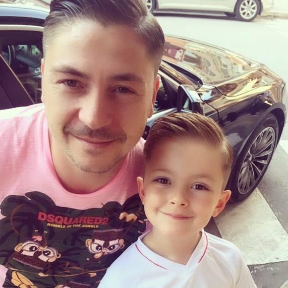 Галин с малкия Стефан