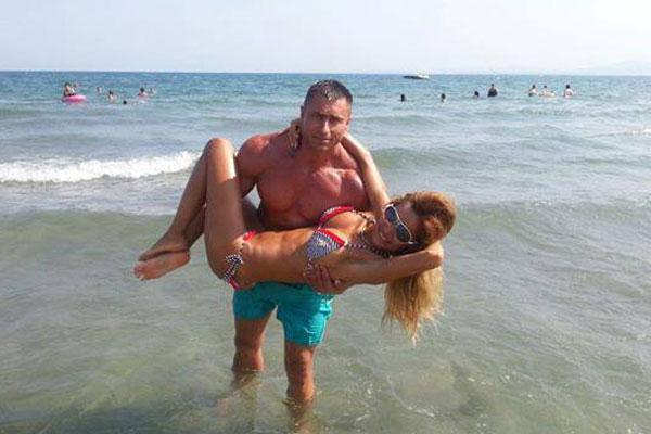 Татяна със съпрута си Борислав
