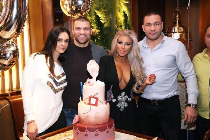 Ето какво Парти подари Кубрат Пулев на Андреа за 30- я й Рожден ден! СНИМКИ +ВИДЕО