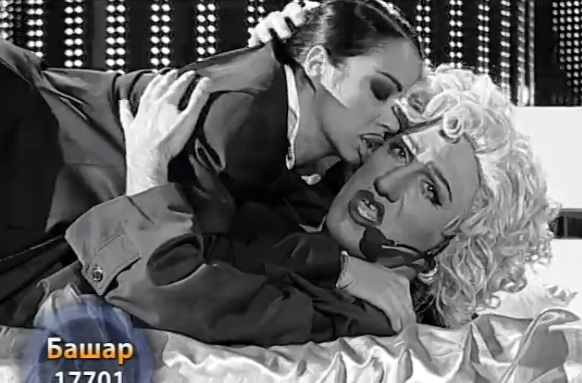 "Содом и Гомор в ""Като две капки вода"", Башар целува мъж, Деси Слава опипва жена"