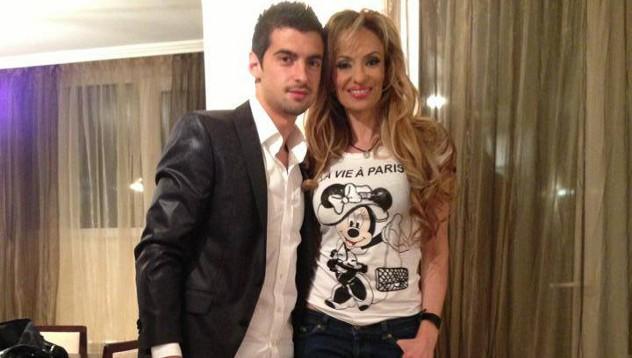 Малина със сина си Симеон Мечев