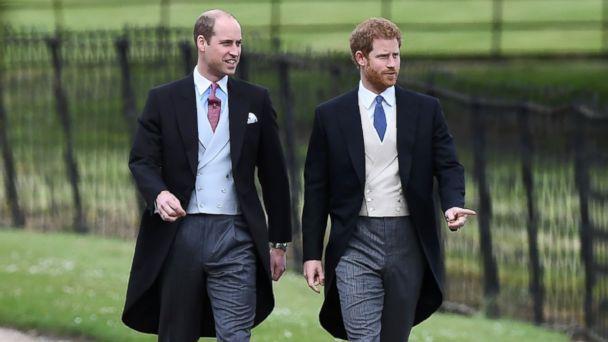 Принц Уилям и принц Хари