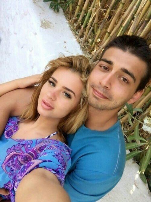 Димитър Динев с Мартина