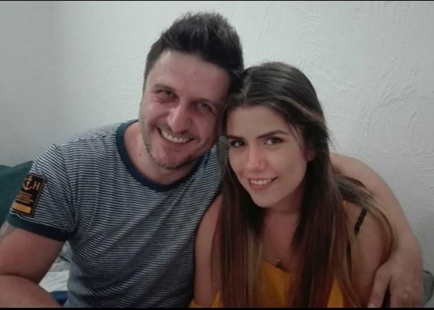 Асен Блатечки с дъщеря си