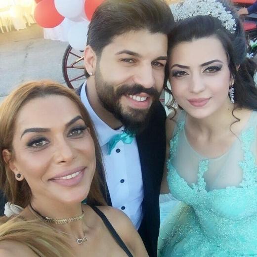Избраницата на Фики Стораро като арабска принцеса на годежа! СНИМКИ: