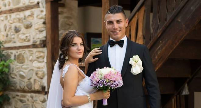 Даниел със съпругата си Агнес