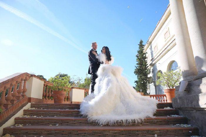 Цеци Красимирова вдигна сватба за чудо и приказ в Испания! СНИМКИ: