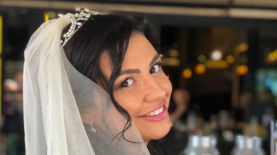 Деси Цонева се Омъжи бременна в 7- я месец! СНИМКИ: